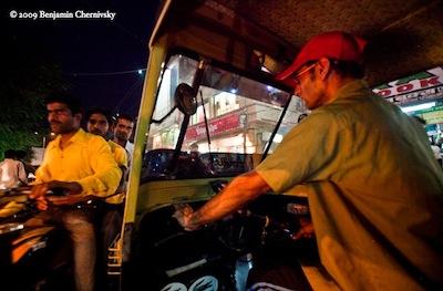 Auto Rickshaw (autowalla) Life - Photograph by Ben Chernivsky