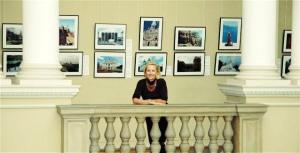 Roksolana at her exhibition