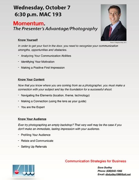 Presenter's Advantage Photography